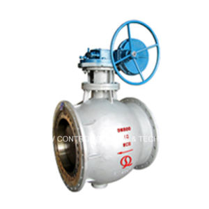 Side Entry Double Eccentric Half Ball Valve with Anti-Scaling Performance and Self Cleaning Function pictures & photos