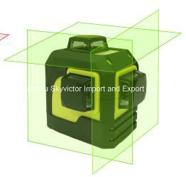 360-Degree 3-Plane Leveling and Alignment Green Laser Level (SW-93TG) pictures & photos
