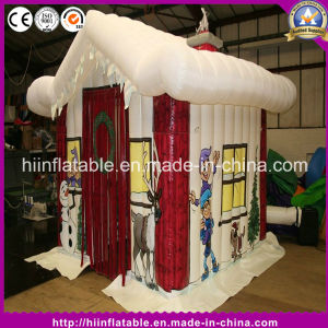Hot Inflatable Christmas House for Decoration pictures & photos