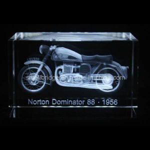 Crystal 3D Motor Cycle