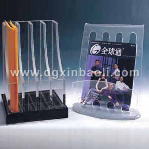 Acrylic File Documents Brochure Display Rack (XBL-BD01)