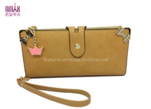 Fake Suede Purse with Lovely Pendant (NMDK-W015) pictures & photos