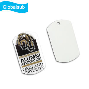Sublimation Heat Transfer Printed Blank Coated Dog Tag pictures & photos