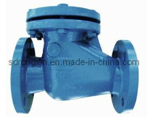 DIN3202 F6 Cast Iron Swing Check Valve pictures & photos