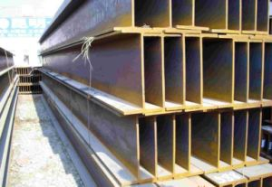 Structural Steel Q235 Hot Rolled H Beams pictures & photos