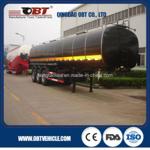 Heating Tank Trailer for Transport Bitumen Asphalt Truck pictures & photos