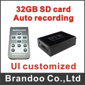 Motion Detection CCTV DVR Works with 64GB SD Memory pictures & photos