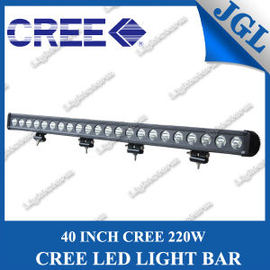 220W CREE LED Light Bar with CE/ISO/RoHS Approval