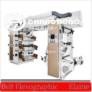 Changhong Brand PE Film Six Colour Printing Machine (CE) pictures & photos
