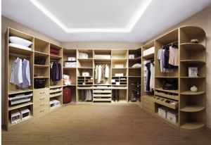 Opening Wooden Wardrobes