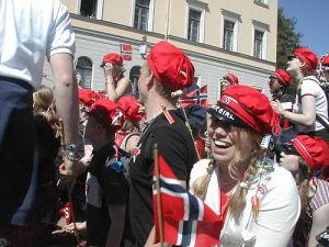 Norwegian Cotton Student Graduation Cap with Original Russelue Design pictures & photos