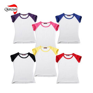 Custom Blank Round Neck Shirts pictures & photos
