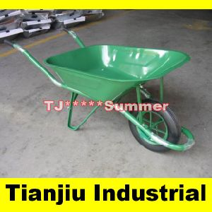 Mozambique Popular Galvanised Construction Wb6400 Wheelbarrow pictures & photos