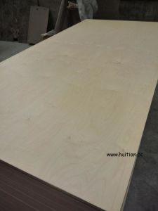 Natural Birch Plywood pictures & photos
