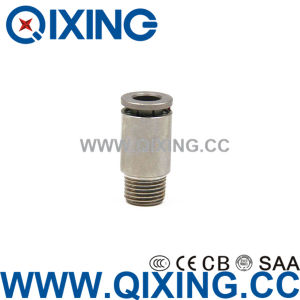 Metric Push to Connect Fittings/Air Pipe Connectors pictures & photos