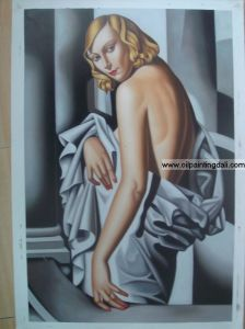 Lempicka Oil Painting On Canvas (T86)