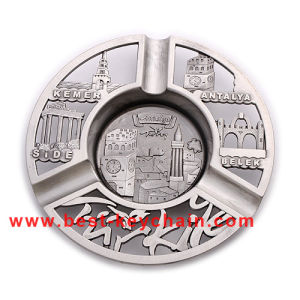 Promotion Zinc Alloy Metal Souvenir Turkey Gift Ashtray (BK53348) pictures & photos