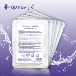 Beauty personal care OEM service collagen face mask silk protein facial mask face lift facial mask pictures & photos