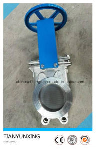 150 Psi Hand Wheel Stainless Steel 316 Knife Gate Valve pictures & photos