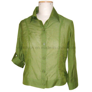 Ladies Silk Cotton Top