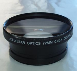 72mm 0.45x Wide Conversion Lens with 82mm Front Filter Thread