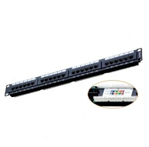 Cat5e UTP Patch Panel/CAT6 FTP Patch Panel/48 Ports Patch Panel pictures & photos