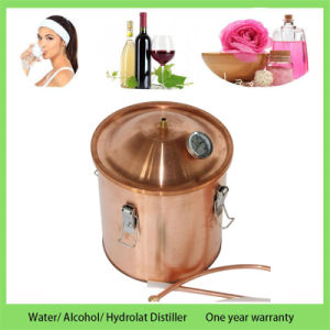 Kingsunshine 30liter 8gallon Copper Distillation Equipment Household Water Alcohol Hydrosol Distiller pictures & photos