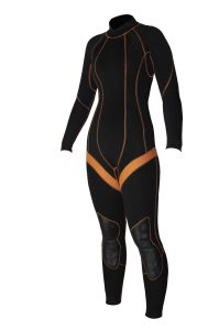 2015 4/3mm Long Sleeve Gbs Steamer Wetsuit for Women pictures & photos