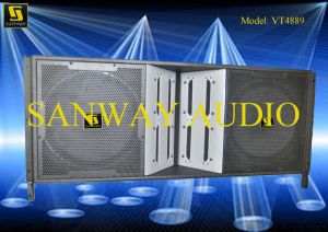Vt4889 Dual 15′′ Line Array Speaker, Subwoofer Line Array pictures & photos