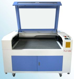 MDF Leather Cloth Laser Cutter Machine (FLC1290) pictures & photos