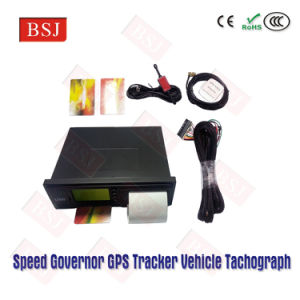 Speed Governor 80kph GPS Tracker Tachograph for Kenya Bus T-01