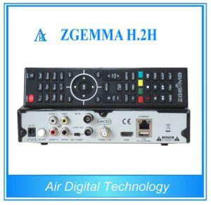 Enigma2 Linux Zgemma H. 2h Combo Receiver DVB-S2 + DVB-T2/C pictures & photos