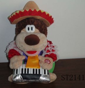 Monkey Musician Play Piano (ST2141)