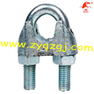 Galv Malleable Wire Rope Clips DIN 741 Clips High Quality