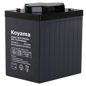 225ah 6V Deep Cycle Gel Battery for Instrumentation pictures & photos