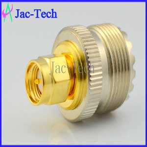 UHF Female to SMA Male RF Coaxial Connector