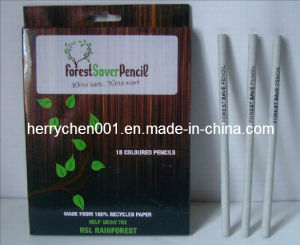 18 Colors Recycled Craft Paper Color Pencil (SKY-808) pictures & photos