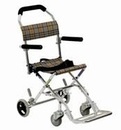 Portable Wheelchair Manual Wheelchair (Hz122-01-06) pictures & photos