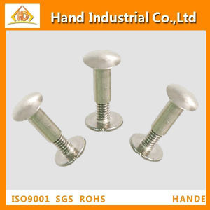 Button Head Fasteners Reliure Poster Binding Post Screw pictures & photos