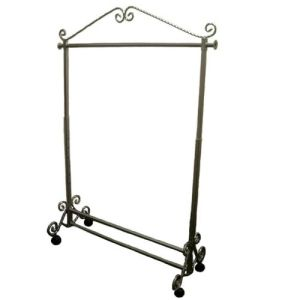 Classical Bronze Color Coated Garment Rails Clothes Rack pictures & photos