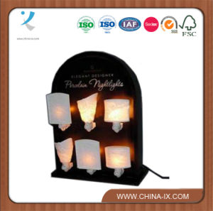 Counter Top Wooden Light Display Rack pictures & photos
