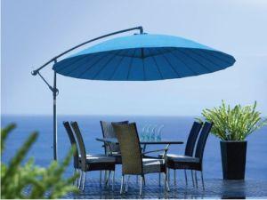 3m Garden Fiberglass Hanging Umbrella