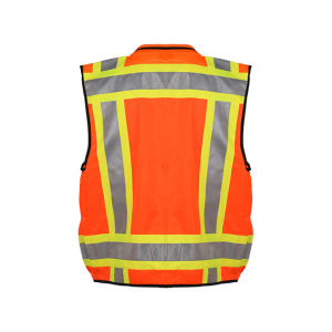 Traffic Warning Reflective Safety Vest with Pockets for Men pictures & photos