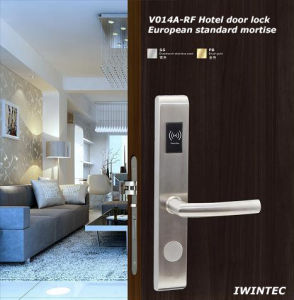 Hotel Electronic Lock (V-RF014A-SS) pictures & photos