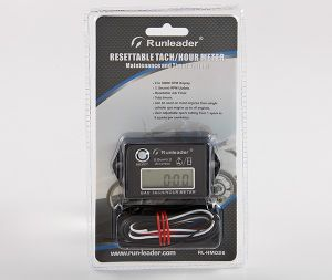 LCD Resettable Tachometer and Hour Meter for 2/4 Stroke Gasoline Engine