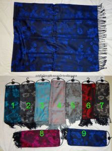 Fashion Acrylic Knitted Scarf for Ladies