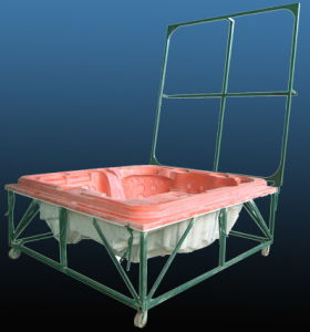 Fiberglass Mold / Suction Mould for SPA, Bathtub, Swimming Pool and Steam Room