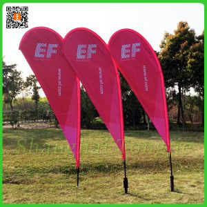 Custom Outdoor Advertising Teardrop Flag pictures & photos