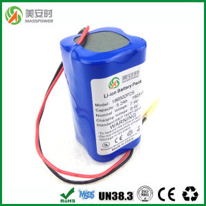 7.4V 5200mAh 2p2s 18650 Battery pictures & photos