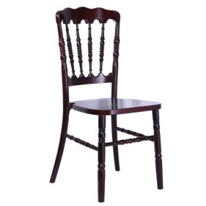 Discount Promotion Mahogany Color Napoleon Chair on Sale pictures & photos